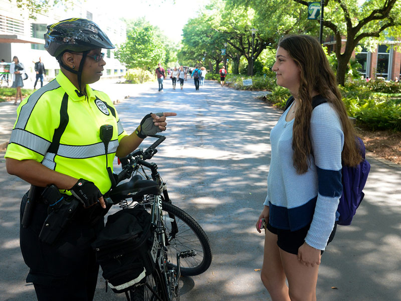 TUPD Bike Officer